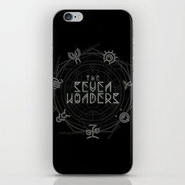 The Seven Wonders iPhone Skin