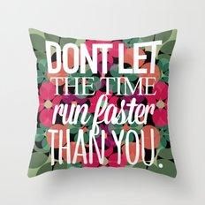 FLOWER TIME Throw Pillow