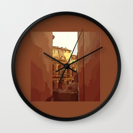Ancient Rome Wall Clock