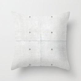 Concrete Wall Throw Pillow