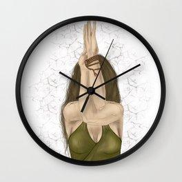 Eagle Arms Wall Clock