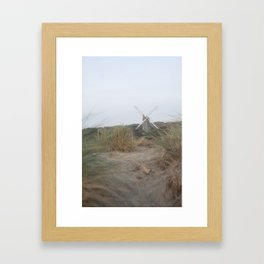 Outside Lands Windmill Framed Art Print
