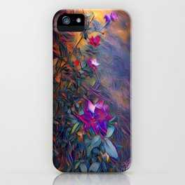roses at dusk iPhone Case