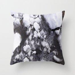 Melting Point Throw Pillow