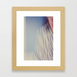 Abstract Portrait of a Woman Framed Art Print