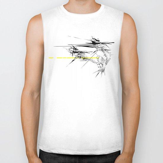 Holy Weapon // (Glitch Owl) Biker Tank