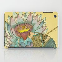 writer iPad Cases featuring The Writer by Theo Szczepanski