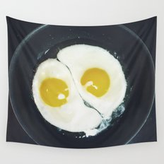 Yin-yang breakfast Wall Tapestry