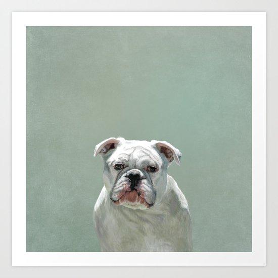 BILL the Bulldog Art Print