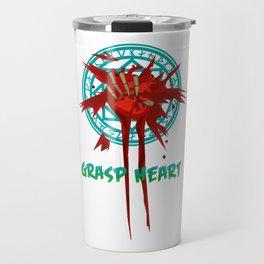 Grasp heart Travel Mug