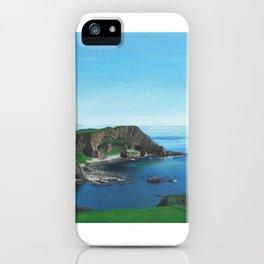 Islay Scotland Oil on Canvas iPhone Case