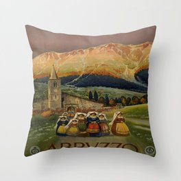 Abruzzo Throw Pillow