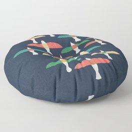 Vintage seagull Floor Pillow