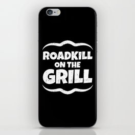 Roadkill on the Grill iPhone Skin