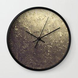 Gold Honey Wall Clock