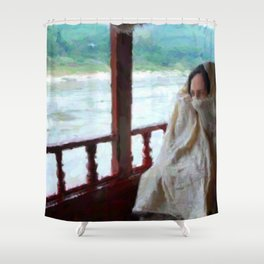 Mekong Journey Shower Curtain