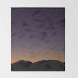 Gloaming Gradient Throw Blanket