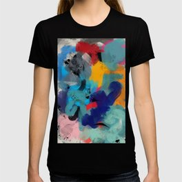 Abstract Expressionism Art Colourful Pattern T-shirt