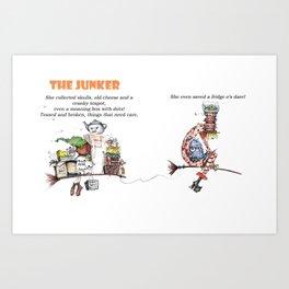 The Junker Art Print
