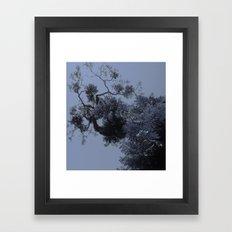 Floating Leaves Framed Art Print
