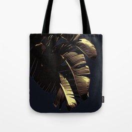 Golden Palm Tote Bag