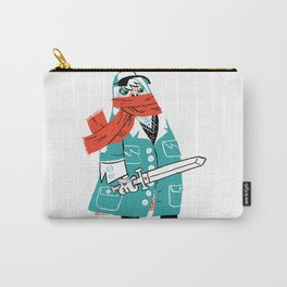 Creepy Scarf Guy Carry-All Pouch