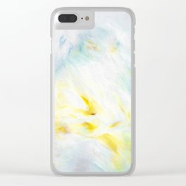 Blanc Clear iPhone Case