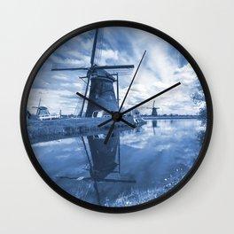 Kinder Delft  Wall Clock