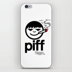 p i f f  iPhone & iPod Skin