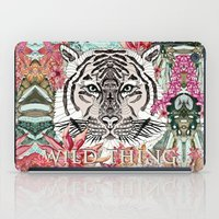 the thing iPad Cases featuring WILD THING by Monika Strigel
