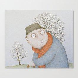 Ix-Xitwa (Winter) Canvas Print