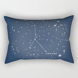 CANCER - Astronomy Astrology Constellation Rectangular Pillow