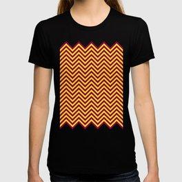 Sunnydale High Chevron (Maroon & Gold - #8A0034 x #FFDC32) T-shirt