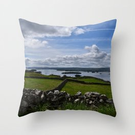 Irish Pastures Throw Pillow
