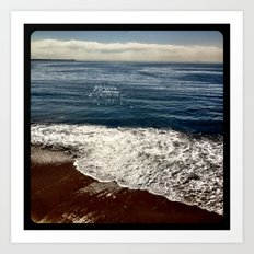 Seaside.  Art Print