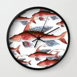 School Over Crowding Wall Clock