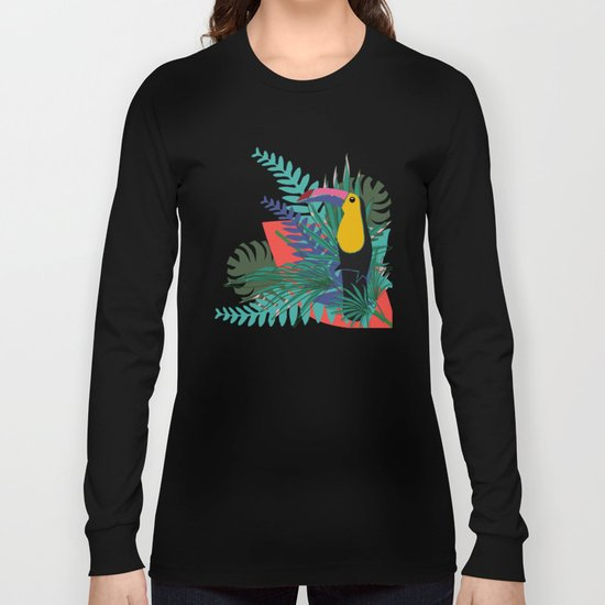 Toucan pink Long Sleeve T-shirt