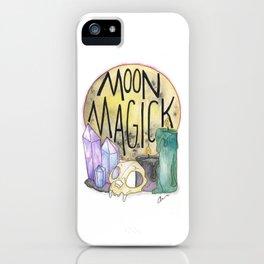 Moon Magick iPhone Case