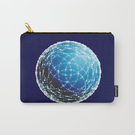 The Blue Orb Carry-All Pouch
