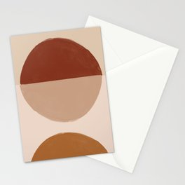 Abstract art, bohemian Stationery Cards