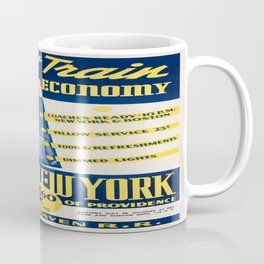 Vintage poster - Night Train Economy Coffee Mug