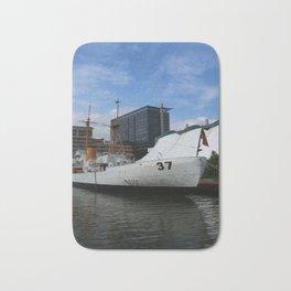 Coast Guard Cutter Taney Baltimore Harbor Bath Mat