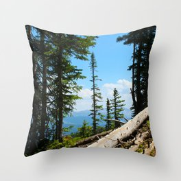 Crested Butte, Colorado Throw Pillow