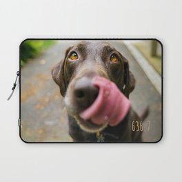 Brown dog (Dewey Decimal) Laptop Sleeve