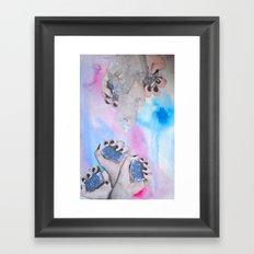 Crystalisis Framed Art Print