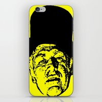 literature iPhone & iPod Skins featuring Outlaws of Literature (Ken Kesey) by Silvio Ledbetter