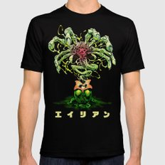 ALIEN: FACEHUGGER (color) Black X-LARGE Mens Fitted Tee