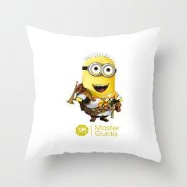 MasterGuide Minion Throw Pillow