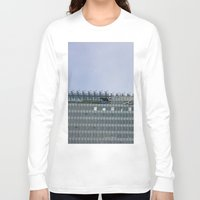 building Long Sleeve T-shirts featuring Building by RMK Creative