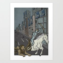 The Conqueror  Art Print